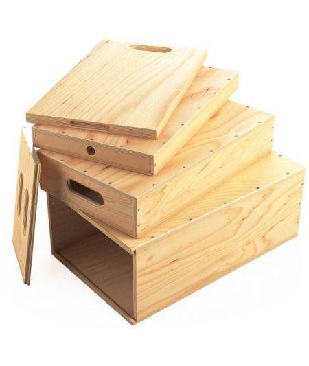 nesting apple boxes